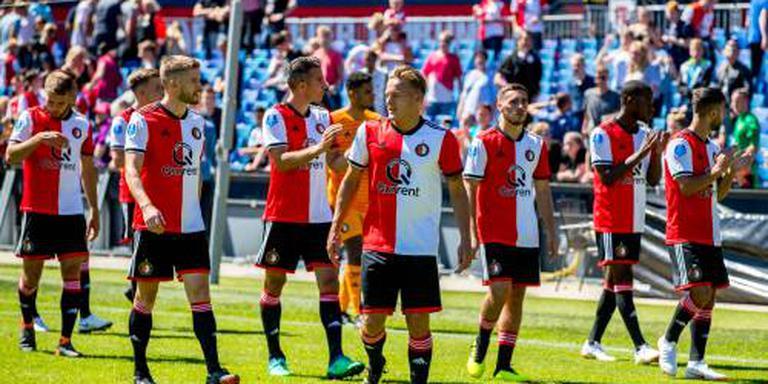 Feyenoord walgt van spandoek