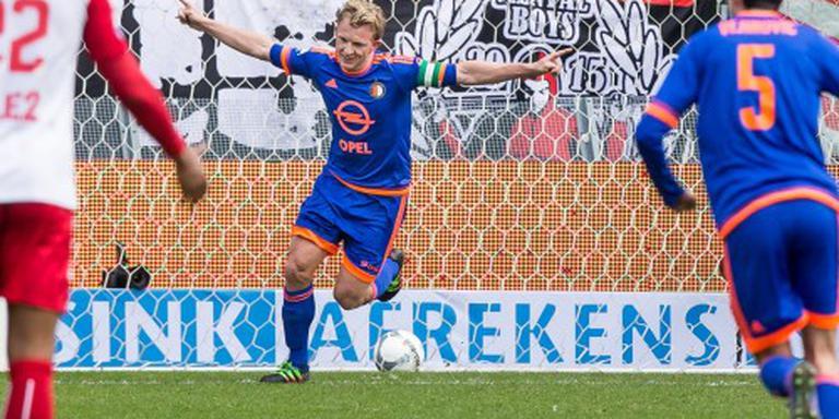 Feyenoord heeft aanvoerder Kuijt terug