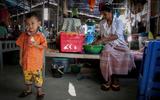De bewoners van het meditatiedorp in Myanmar bezitten niks