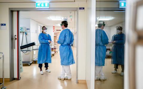 Iets meer coronapatiënten in Nederlandse ziekenhuizen