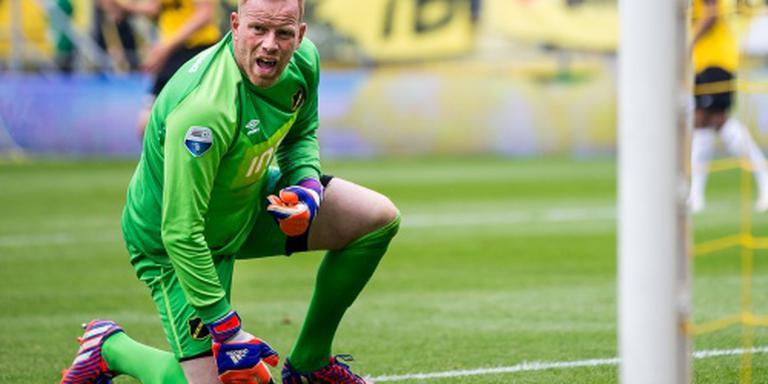 Doelman Ten Rouwelaar stopt bij NAC Breda