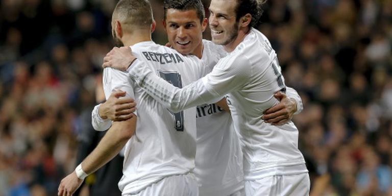 Real Madrid wint als enige topclub wel