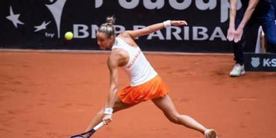 Tennisster Rus uitgeschakeld in Boedapest