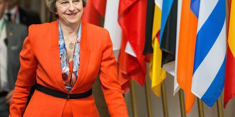 Britse premier May is bang voor crisis