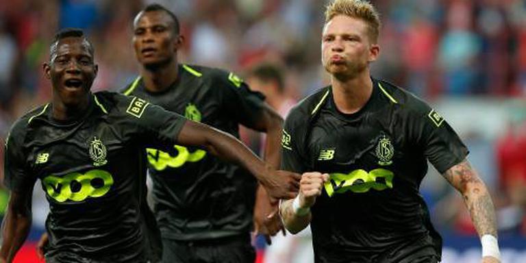 Standard Luik speelt opnieuw gelijk