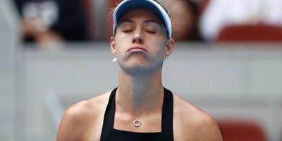 Kerber breekt met haar coach