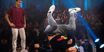 Olympische doorbraak van breakdance