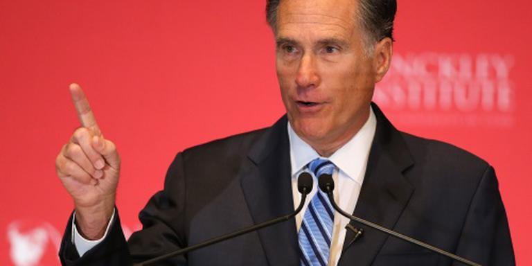 Romney waarschuwt voor 'gevaarlijke' Trump