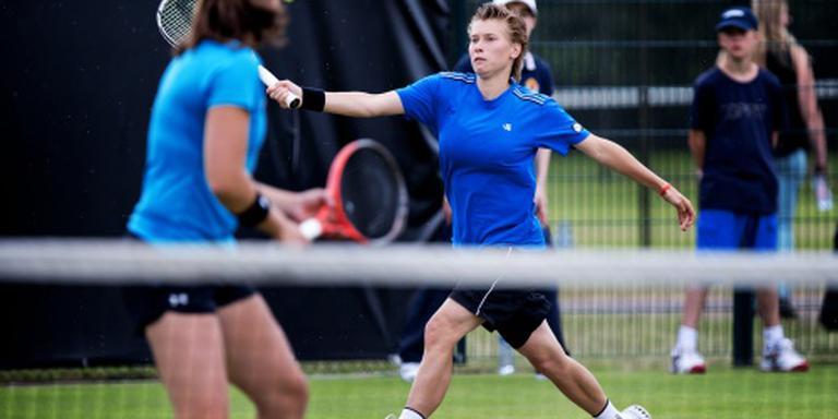 Tennisster Schuurs mist titel inTasjkent