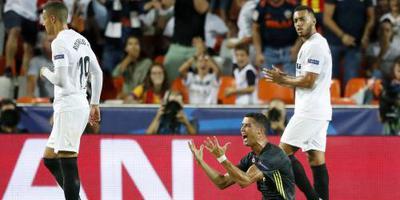 'VAR had rode kaart Ronaldo geannuleerd'