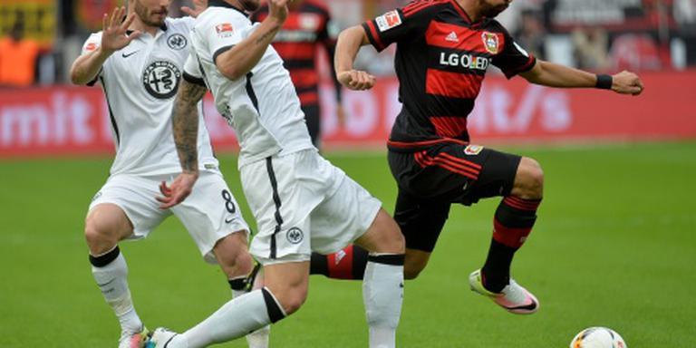 Leverkusen profiteert van nederlaag Hertha