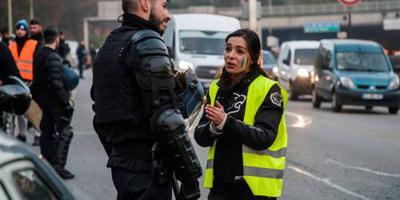 Boze automobilisten in actie in Frankrijk