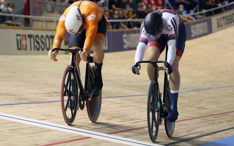 Lavreysen en Hoogland naar halve finale WK sprint