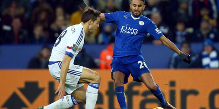 Koploper Leicester City blijft maar winnen