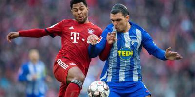 Bayern wint van Hertha en Rekik krijgt rood