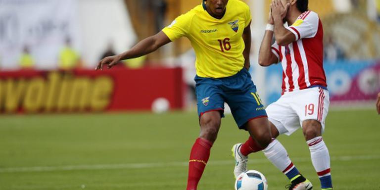 Ecuador blijft ongeslagen in WK-kwalificatie