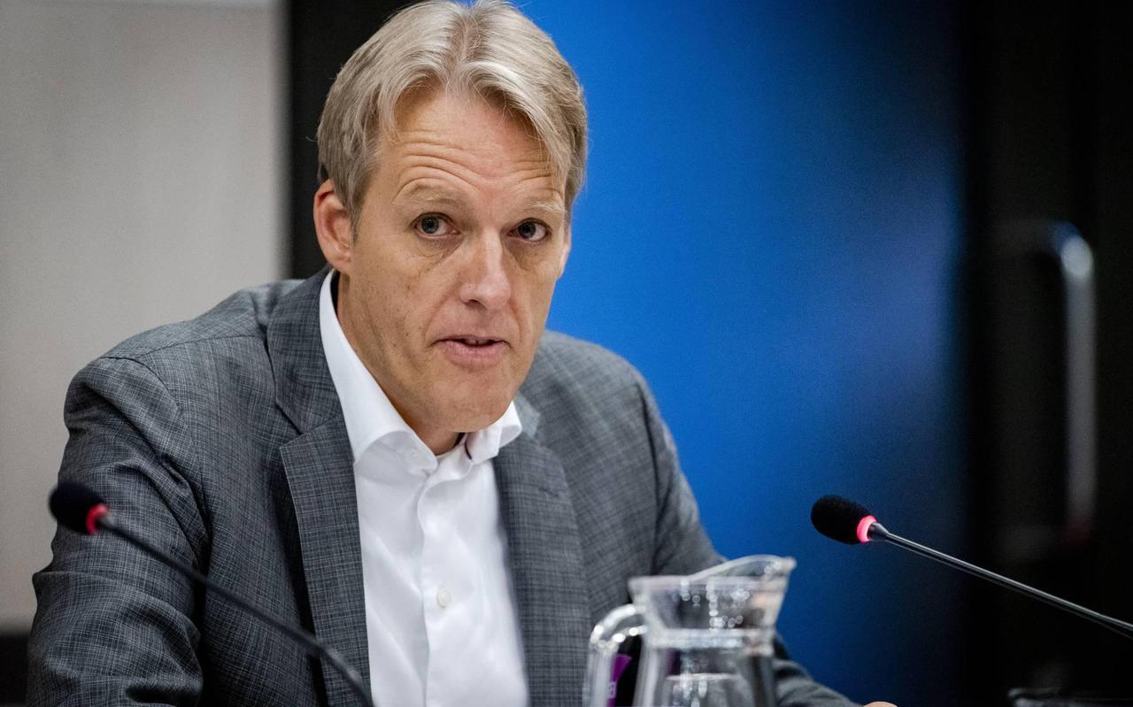 NAM-topman Johan Atema.
