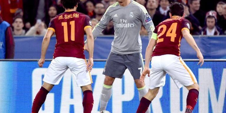 Real Madrid slaat toe in Rome
