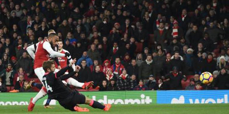 Arsenal mist Lacazette tegen ManUnited