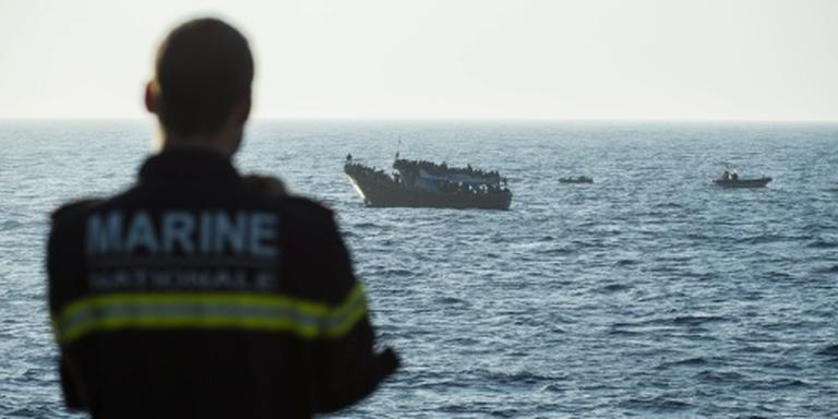 Marinemissie NAVO tegen mensensmokkel