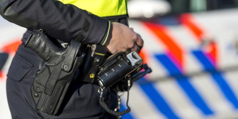 Politie lost waarschuwingsschot in Borculo