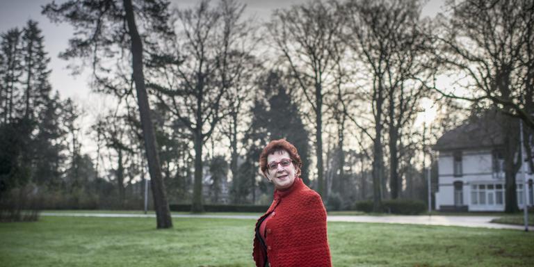 Linet – toen nog Tekkelina – Smits-Dijk verdiende haar eerste fiets in de strijkkamer van Dennenoord. Foto Marcel Jurian de Jong
