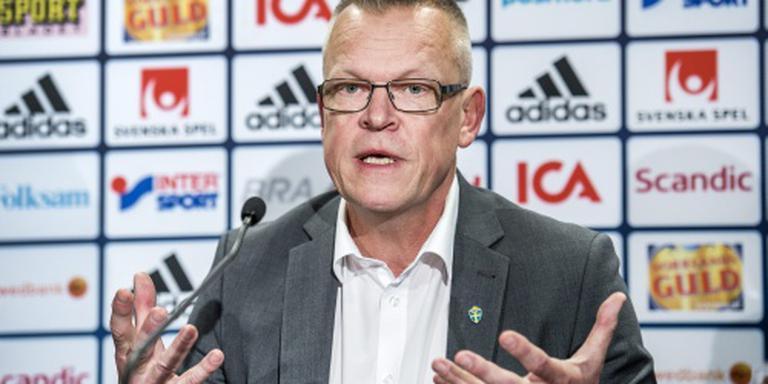 Zweedse selectie voor duel met Oranje rond
