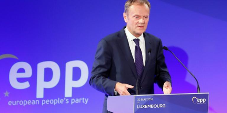 Tusk smeekt Britten in EU te blijven