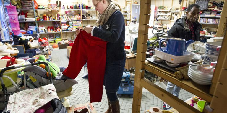 Arm en rijk drijven verwoed ruilhandel in Sellingen