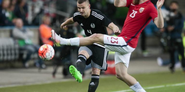 Wit-Rusland verslaat Noorwegen