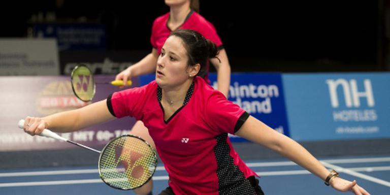 EK voorbij voor badmintonners Jille/Tabeling