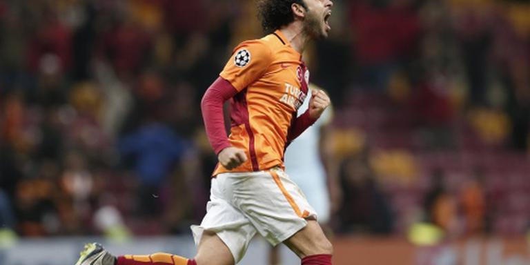 Sneijder en Donk winnen met Galatasaray
