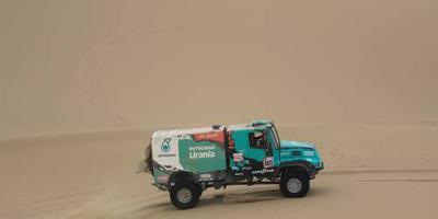 De Rooy viert rentree Dakar op podium