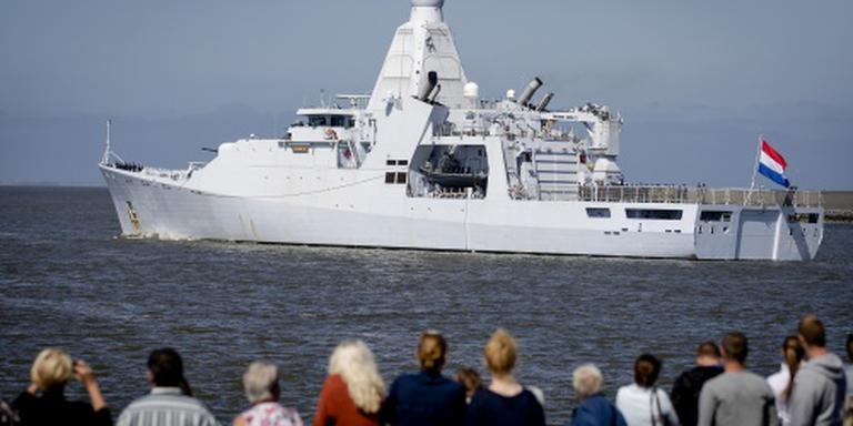 Patrouilleschip Groningen terug uit Cariben