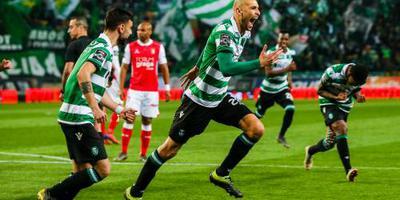 Fernandes en Dost bezorgen Sporting zege