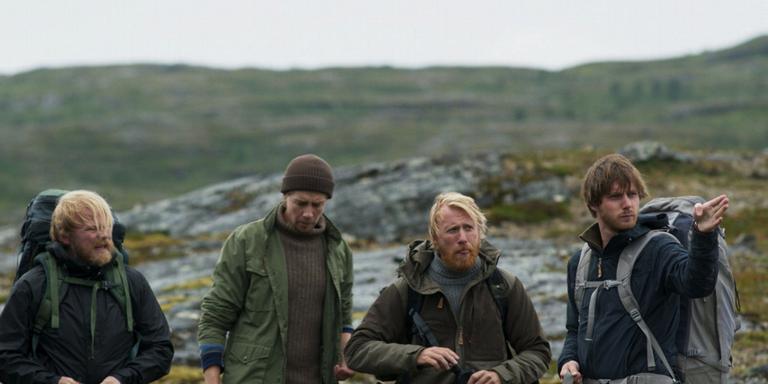 Anders Baasmo Christiansen, Pål Sverre Hagen, Thorbjørn Harr en Reinout Scholten van Aschat (vlnr).