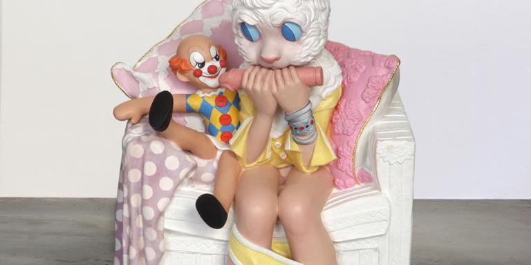 Het kunstwerk 'Toys in the attic' Foto: archief DvhN