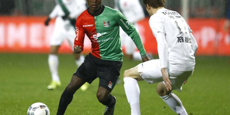 NEC vierde na zege op FC Twente