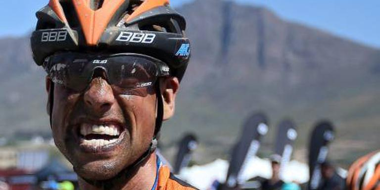 Mountainbiker Van Houts beëindigt loopbaan