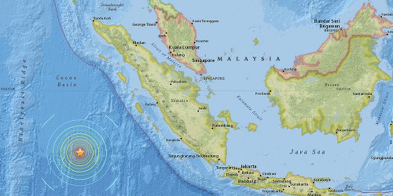 'Doden door zeebeving bij Sumatra'