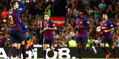 Eerste averij Barcelona in La Liga