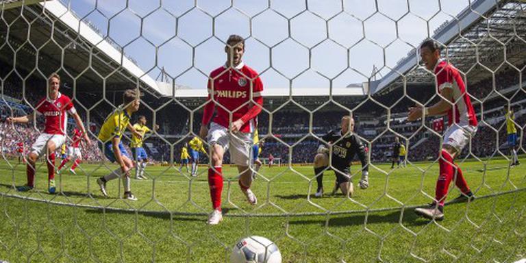 Cambuur degradeert na dikke nederlaag bij PSV