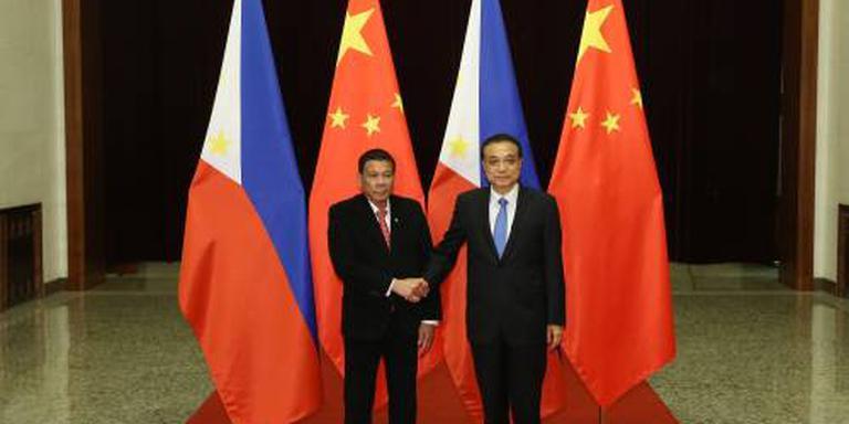Bezoek Duterte aan China was economisch