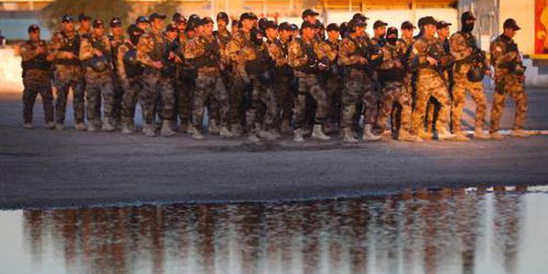 Commando's helpen Iraakse troepen aan front