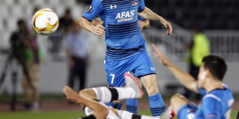 Willem II huurt Hupperts van AZ