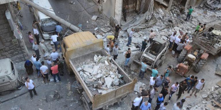 Tientallen slachtoffers bij offensief Aleppo