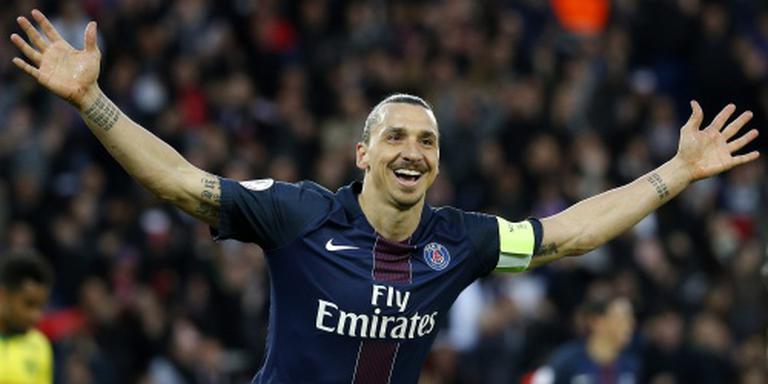 PSG zwaait Zlatan stijlvol uit