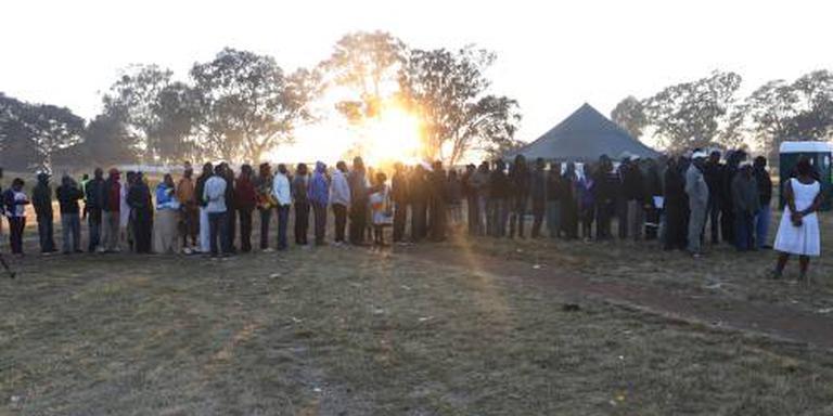 Hoge opkomst bij verkiezingen Zimbabwe
