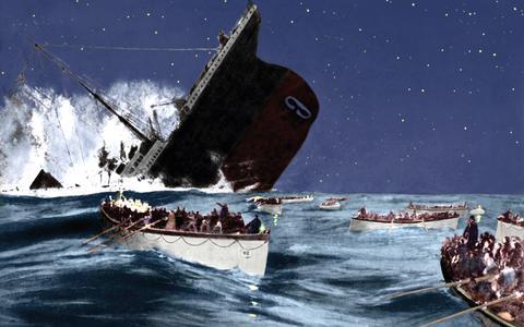 Een Amerikaans bedrijf brengt toeristen naar het wrak van de Titanic.