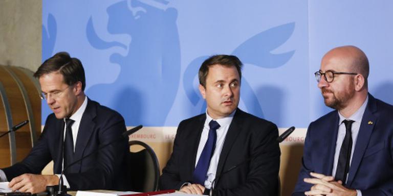 Premiers Benelux samen naar Tunesië